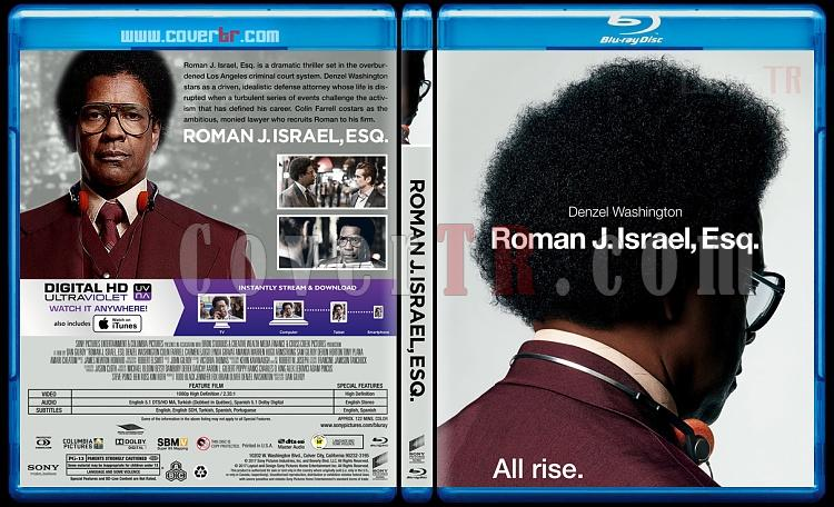 Roman J. Israel, Esq. - Custom Bluray Cover - English [2017]-1jpg