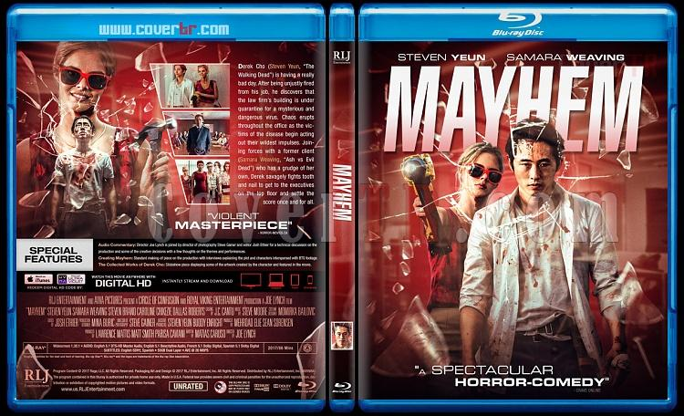 Mayhem - Custom Bluray Cover - English [2017]-1jpg