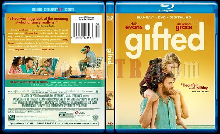 Gifted (Deha) - Custom Bluray Cover - English [2017]-1jpg