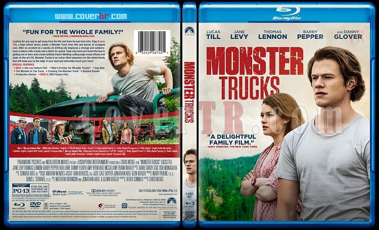 Monster Trucks (Canavar Kamyonlar) - Custom Bluray Cover - English [2017]-121jpg