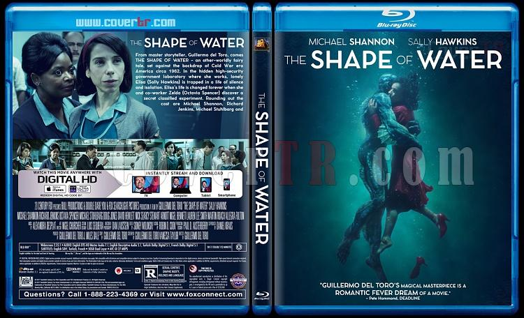 The Shape of Water (Suyun Sesi) - Custom Bluray Cover - English [2017]-1jpg