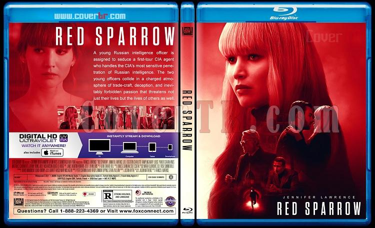 Red Sparrow (Kızıl Serçe) - Custom Bluray Cover - English [2018]-1jpg