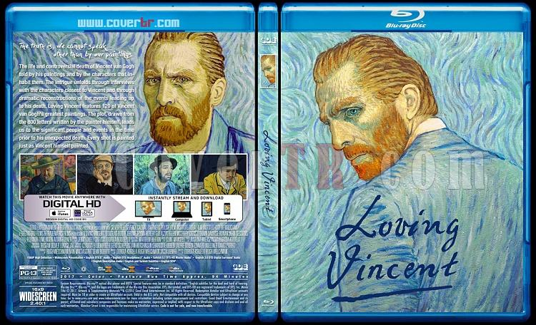 Loving Vincent - Custom Bluray Cover - English [2017]-2jpg