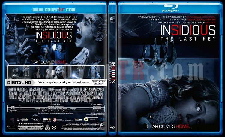 Insidious: The Last Key (Ruhlar Bölgesi: Son Anahtar) - Custom Bluray Cover - English [2018]-1jpg