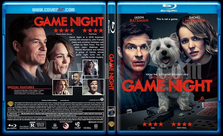 Game Night (Oyun Gecesi) - Custom Bluray Cover - English [2018]-1jpg