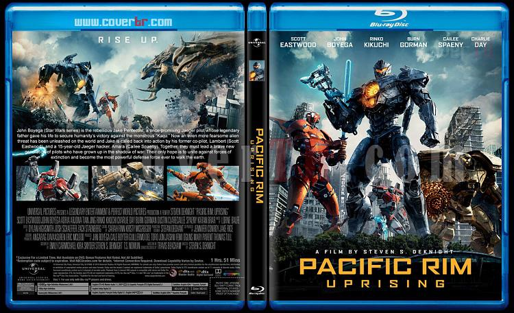 Pacific Rim Uprising (Pasifik Savaşı İsyan) - Custom Bluray Cover - English [2018]-3jpg