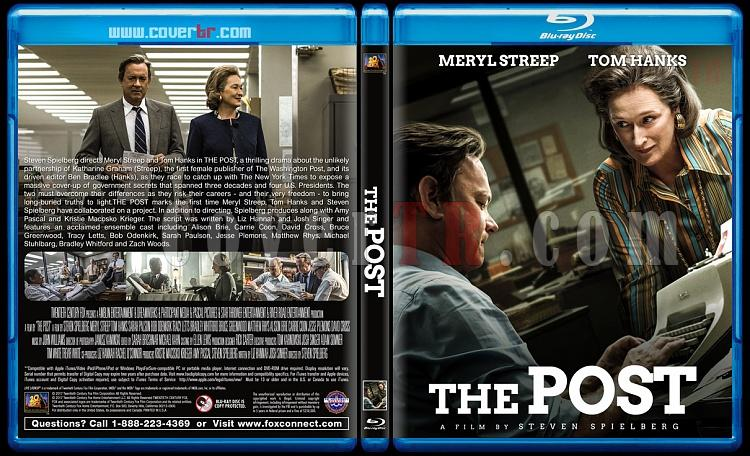 The Post - Custom Bluray Cover - English [2017]-2jpg