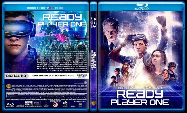 Ready Player One (Başlat) - Custom Bluray Cover - English [2018]-1jpg