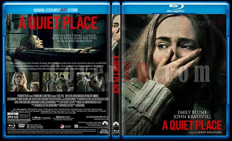 A Quiet Place (Sessiz Bir Yer) - Custom Bluray Cover - English [2017]-01jpg