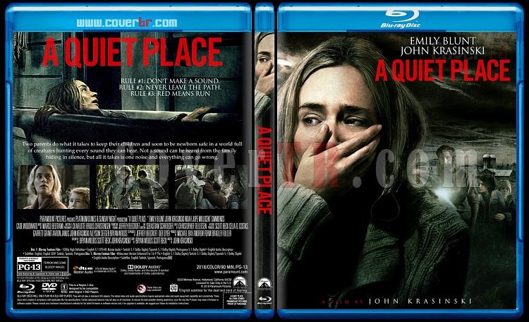 A Quiet Place (Sessiz Bir Yer) - Custom Bluray Cover - English [2017]-2jpg