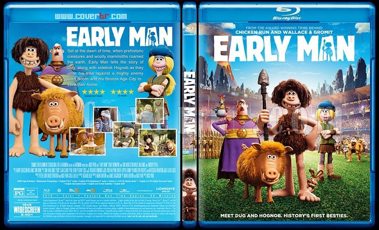 Early Man (Taş Devri Firarda) - Custom Bluray Cover - English [2018]-1jpg