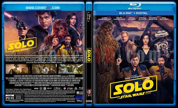 Solo: A Star Wars Story (Han Solo: Bir Star Wars Hikayesi) - Custom Bluray Cover - English [2018]-2jpg