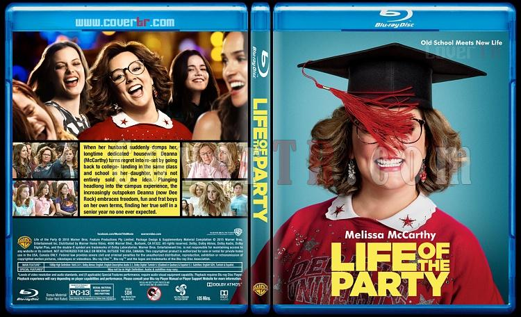 Life of the Party - Custom Bluray Cover - English [2018]-1jpg