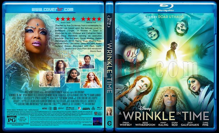 A Wrinkle in Time (Zamanda Kıvrılma) - Custom Bluray Cover - English [2018]-01jpg