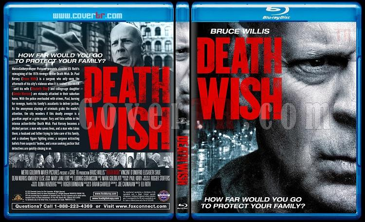 Death Wish (Öldürme Arzusu) - Custom Bluray Cover - English [2018]-02jpg