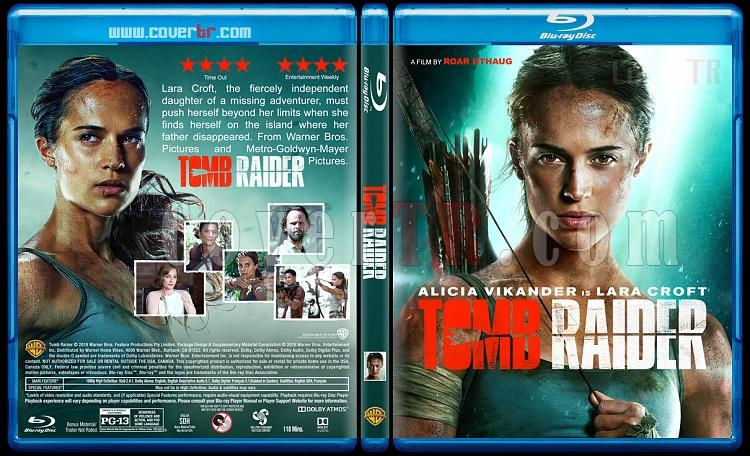 Tomb Raider - Custom Bluray Cover - English [2017]-1jpg