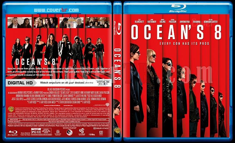 Ocean's 8 - Custom Bluray Cover - English [2018]-2jpg
