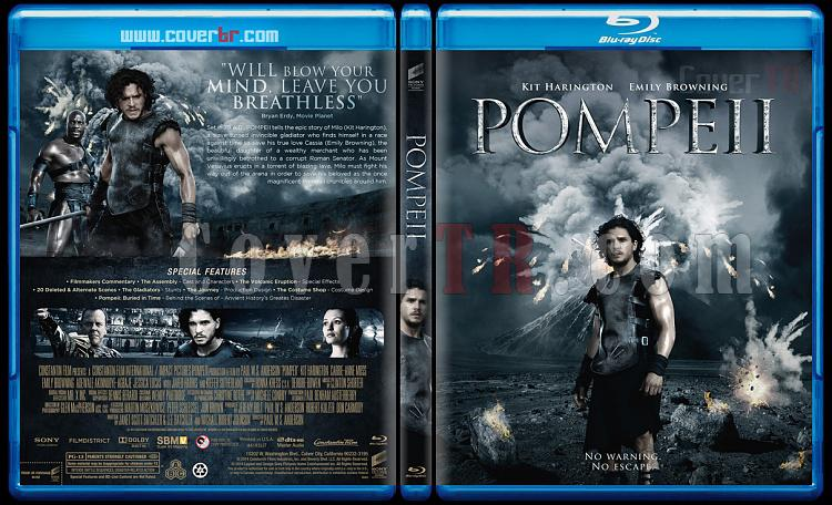 Pompeii - Custom Bluray Cover - English [2014]-1jpg