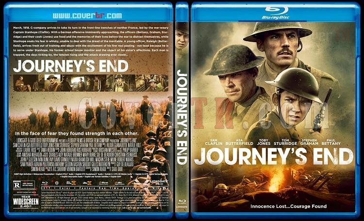 Journey's End - Custom Bluray Cover - English [2017]-1jpg