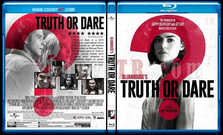 Truth or Dare (Doğruluk Mu Cesaret Mi?) - Custom Bluray Cover - English [2018]-3jpg