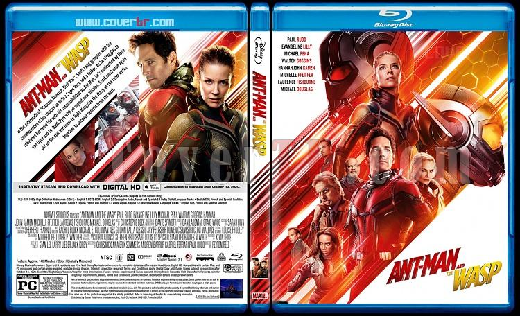 Ant-Man and the Wasp - Custom Bluray Cover - English [2018]-1jpg
