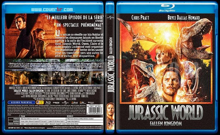 Jurassic World: Fallen Kingdom - Custom Bluray Cover - French [2008]-world-juy-3118-x-1748-x-138-covertrjpg