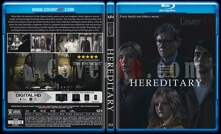 Hereditary (Ayin) - Custom Bluray Cover - English [2018]-1jpg