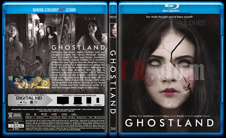 Ghostland - Custom Bluray Cover - English [2018]-1jpg