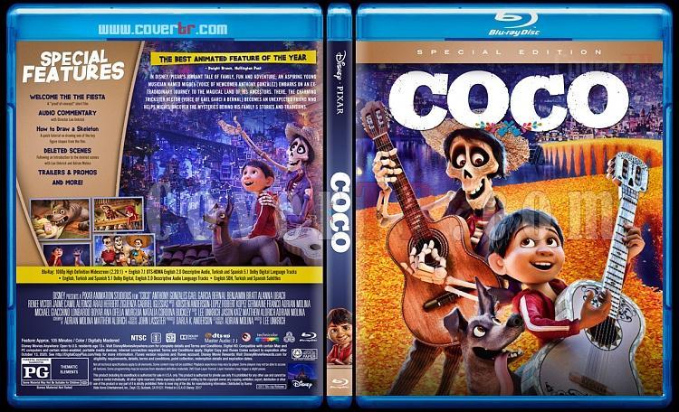 Coco - Custom Bluray Cover - English [2017]-1jpg