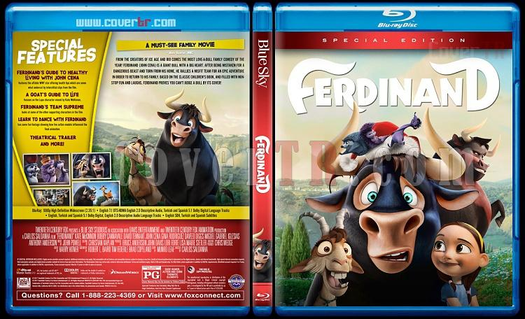 Ferdinand - Custom Bluray Cover - English [2017]-3jpg