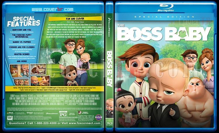 The Boss Baby (Patron Bebek) - Custom Bluray Cover - English [2017]-4jpg