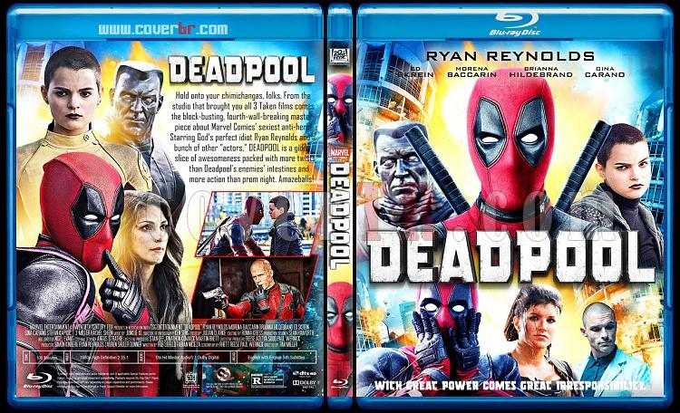 Deadpool - Custom Bluray Cover - English [2016]-03jpg