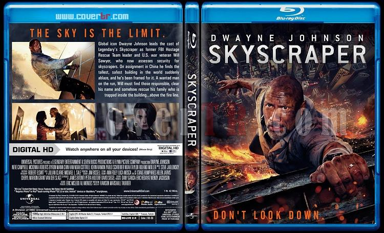 Skyscraper (Gökdelen) - Custom Bluray Cover - English [2018]-01jpg