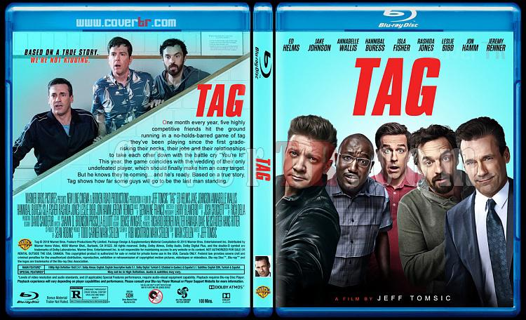 Tag (Yakalandın!) - Custom Bluray Cover - English [2018]-02jpg
