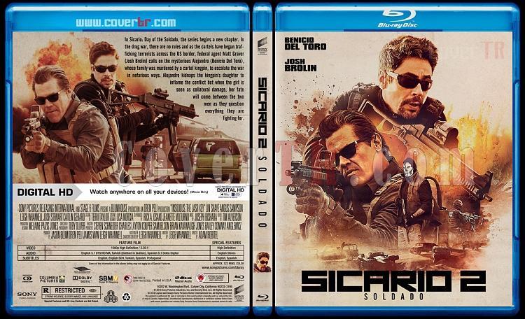 Sicario: Day of the Soldado - Custom Bluray Cover - English [2018]-03jpg