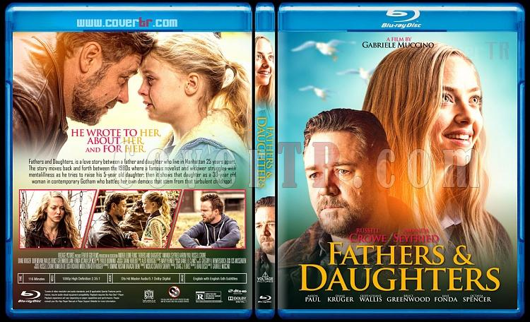 Fathers & Daughters (Babalar ve Kızları) - Custom Bluray Cover - English [2015]-b1jpg