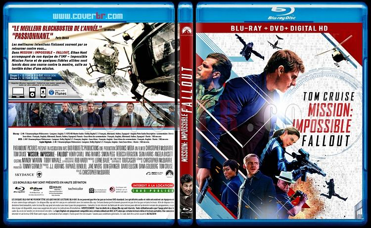 Mission: Impossible - Fallout - Custom Bluray Cover - French [2018]-mi63118-x-1748-x-138-covertrjpg