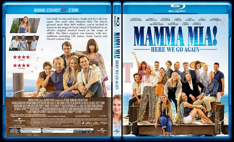 Mamma Mia! Here We Go Again (Mamma Mia! Yeniden Başlıyoruz) - Custom Bluray Cover - English [2018]-01jpg