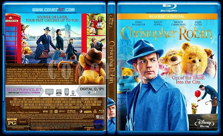 Christopher Robin - Custom Bluray Cover - English [2018]-01jpg