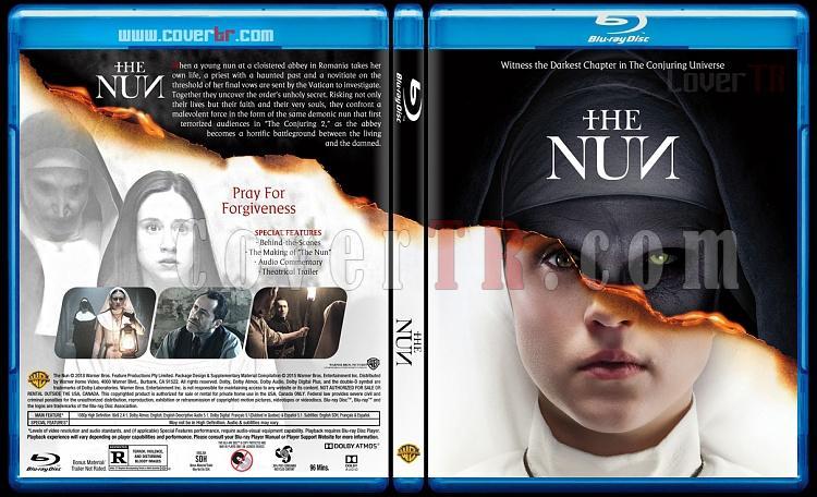 The Nun (Dehşetin Yüzü) - Custom Bluray Cover - English [2018]-03jpg