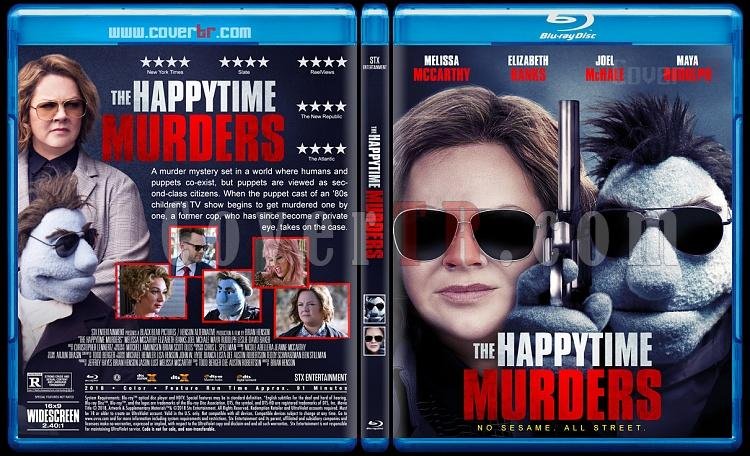 The Happytime Murders (Edepsiz Kuklalar) - Custom Bluray Cover - English [2018]-02jpg