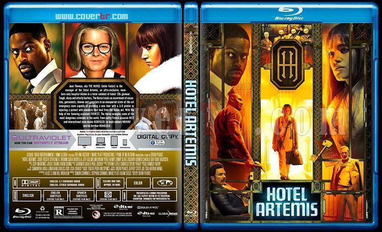 Hotel Artemis - Custom Bluray Cover - English [2018]-01jpg