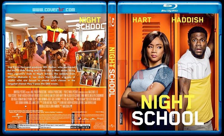 Night School - Custom Bluray Cover - English [2018]-02jpg