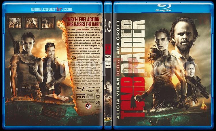 Tomb Raider - Custom Bluray Cover - English [2018]-01jpg