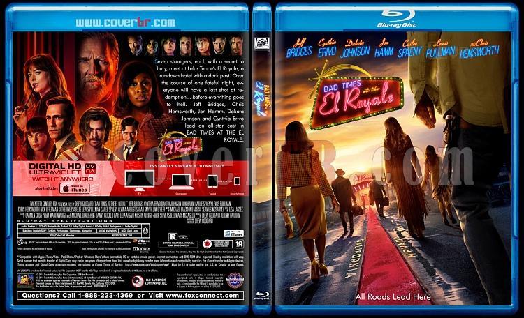 Bad Times at the El Royale (El Royale'de Zor Zamanlar) - Custom Bluray Cover - English [2018]-02jpg