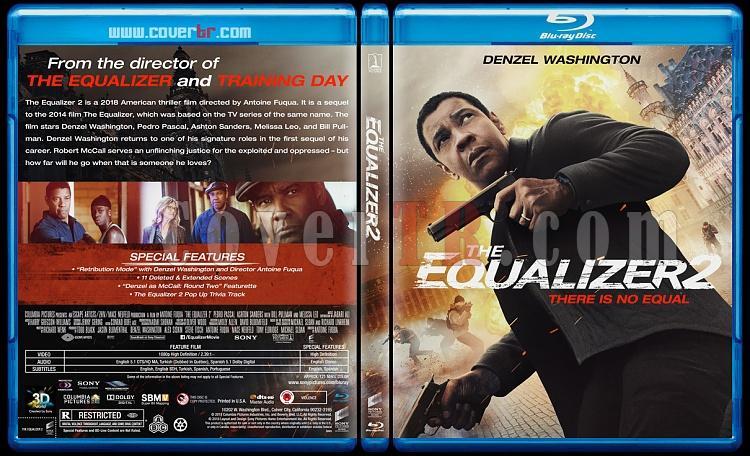 The Equalizer 2 (Adalet 2) - Custom Bluray Cover - English [2018]-1jpg