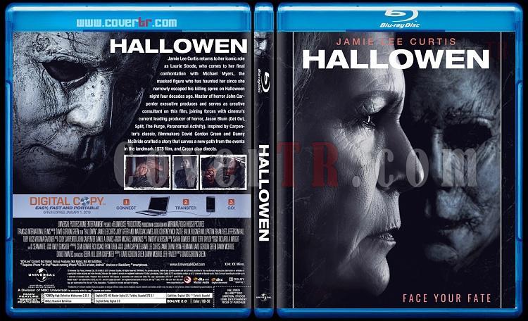 Hallowen (Cadılar Bayramı) - Custom Bluray Cover - English [2018]-1jpg