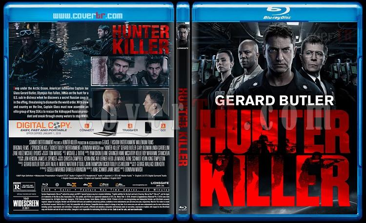 Hunter Killer (Katil Avcısı) - Custom Bluray Cover - English [2018]-2jpg