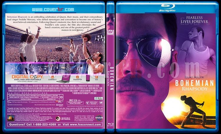 Bohemian Rhapsody - Custom Bluray Cover - English [2018]-1jpg