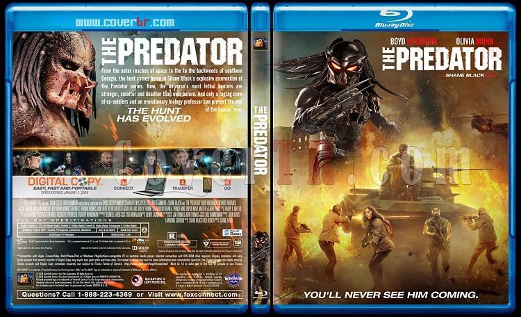 The Predator - Custom Bluray Cover - English [2018]-1jpg